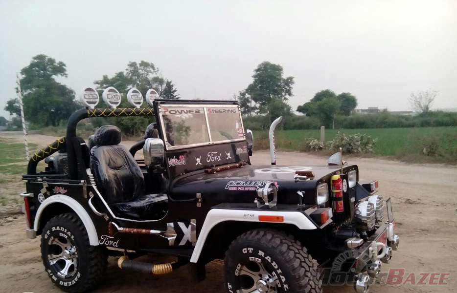 Military Jeeps For Sale Used Military Jeeps For Sale >> The gallery for --> Mahindra Classic Modified
