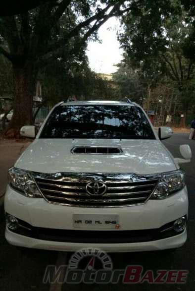 Used Toyota Fortuner 4WD MT 18353071117153130