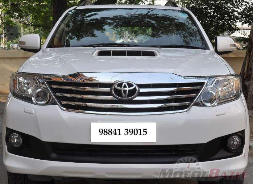 Used Toyota Fortuner 2009 2012 4wd Mt 18303031117152019