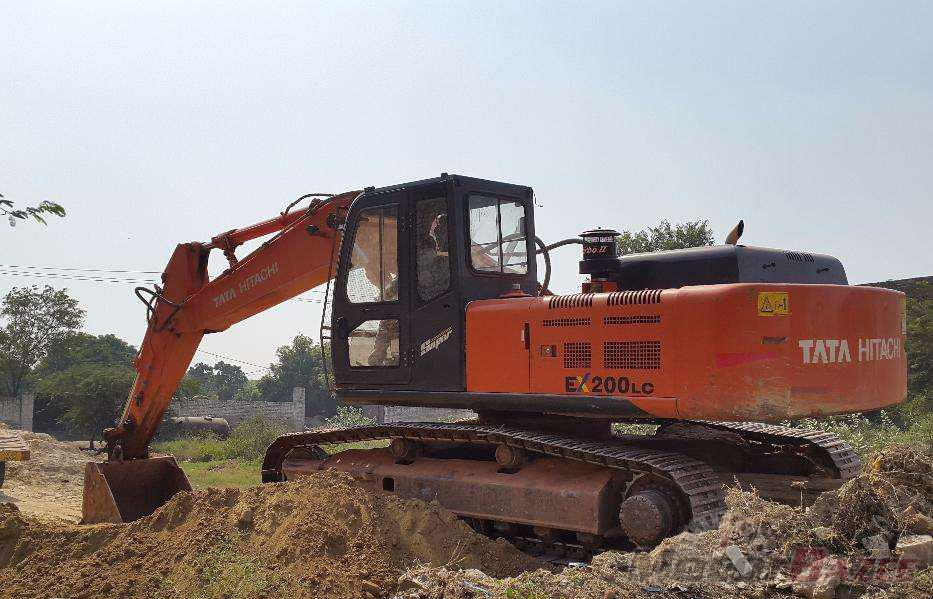 Used Tata Hitachi EX200LC Super Base 12855081216145500