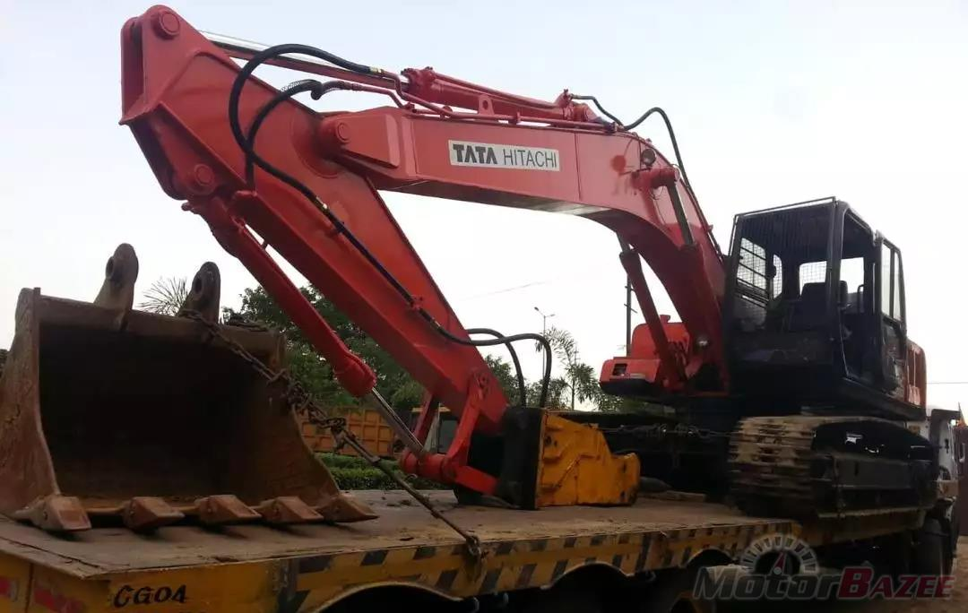 Tata Hitachi EX200LC Super Base