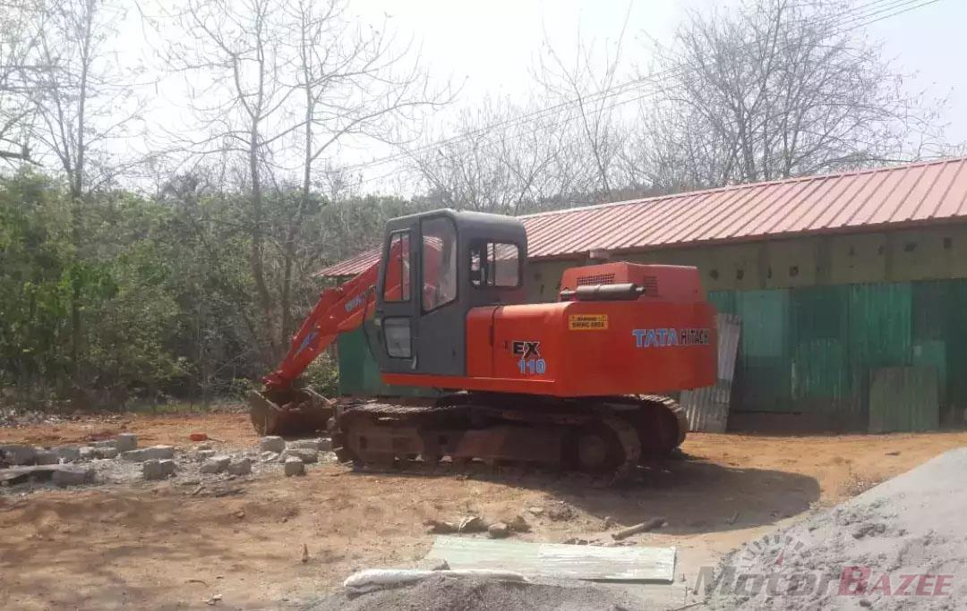 Tata Hitachi EX 110 Base