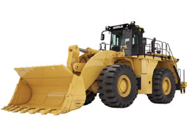 Caterpillar-990H Millyard Arrangement