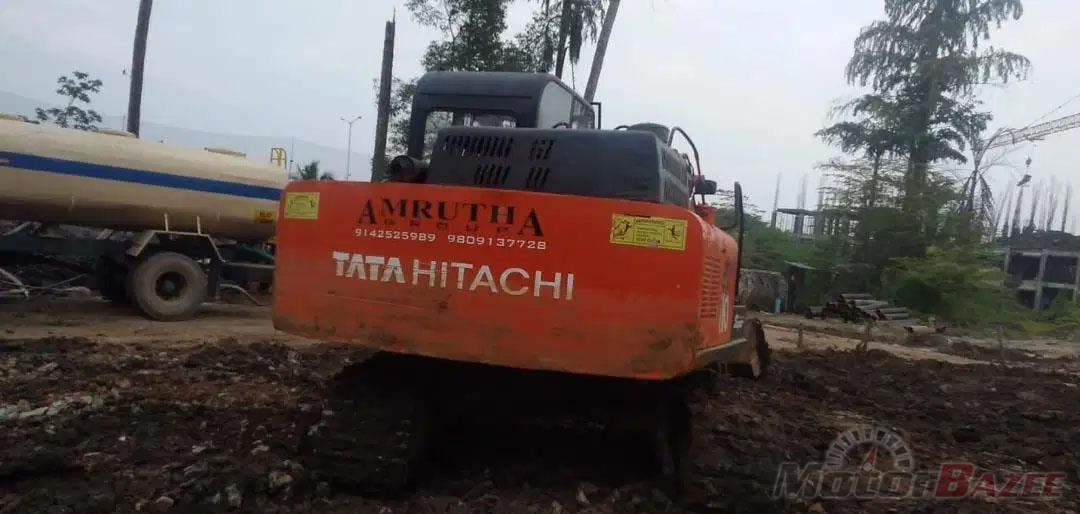 Used Tata Hitachi  EX 110 Base Truck