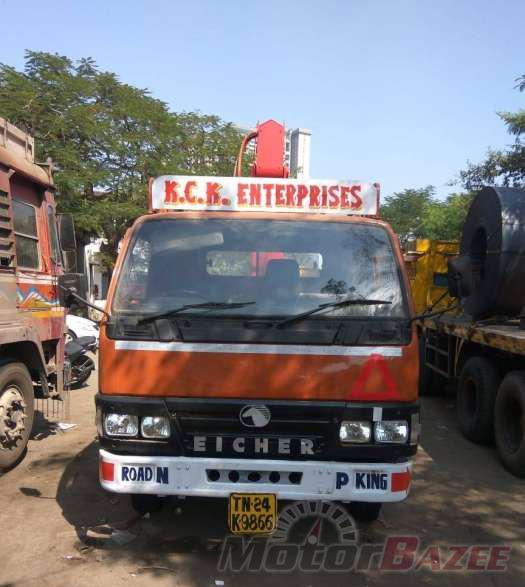 Used Eicher  10.59 XP (CB/3350/14FT) Truck
