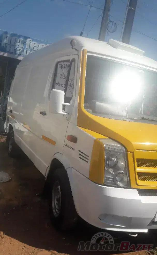 Used Force Motors  Trax Delivery Van Base Truck