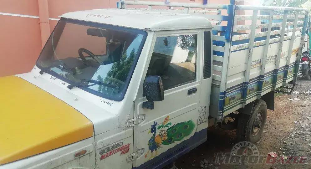 Used Mahindra  BIG BOLERO PICKUP BS-III Truck