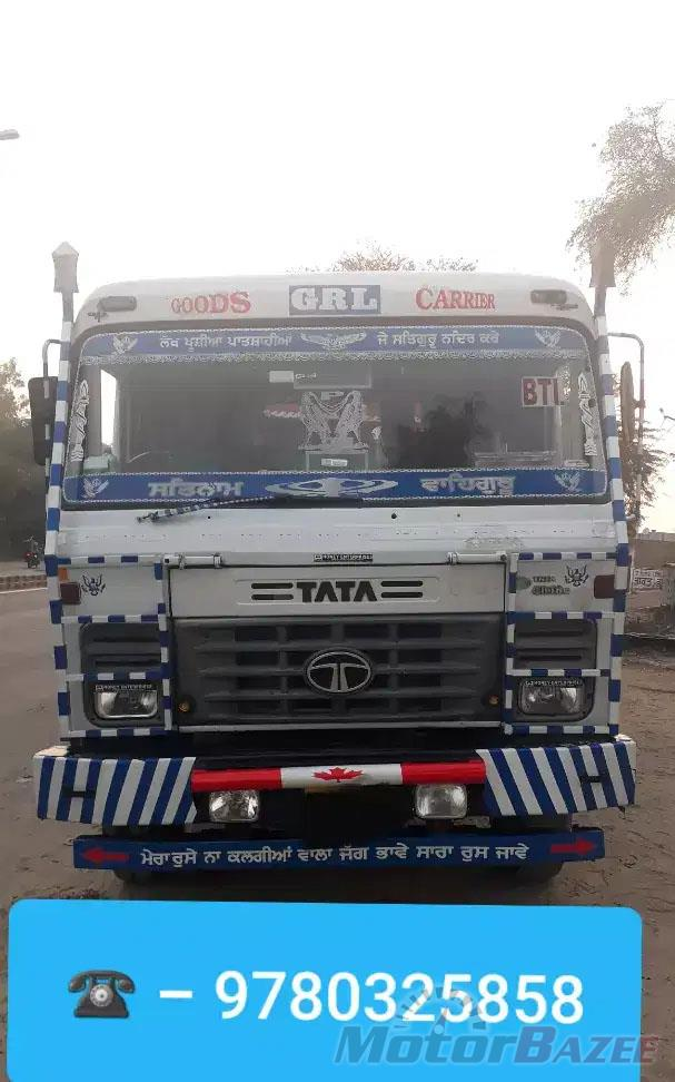 Used Tata  4018 TC EX Flat-bed Trailer Truck