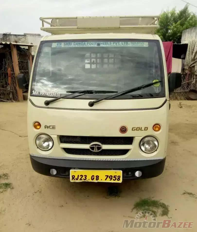 Used Tata  Ace Gold Base Truck