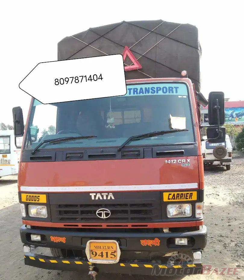 Used Tata  LPT 1412 Containers Truck