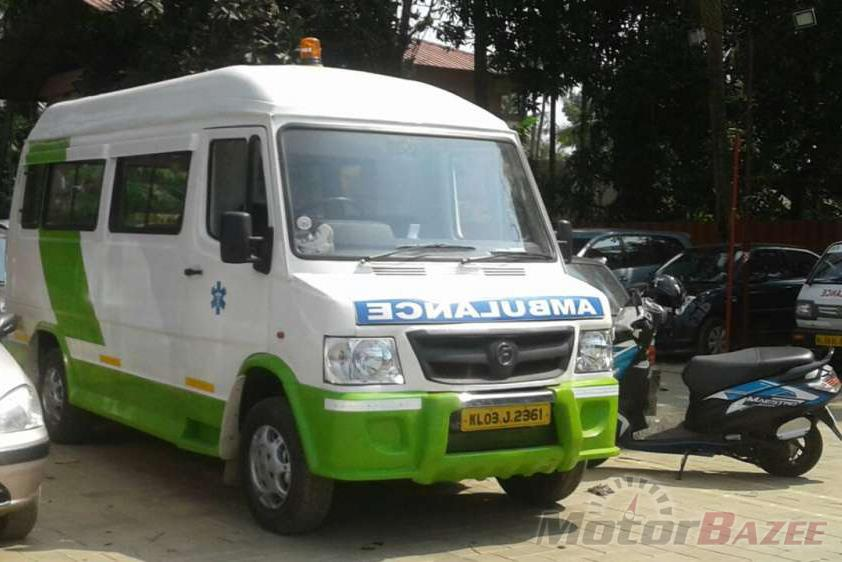 Used Force Motors  TRAX Ambulance DI BS-III Truck