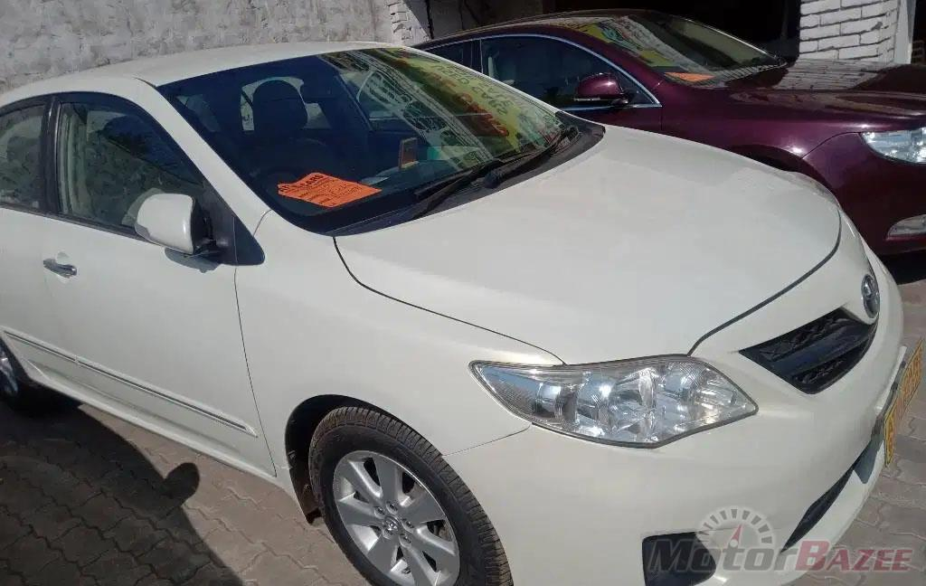Used Toyota  Corolla Altis D-4D G Truck