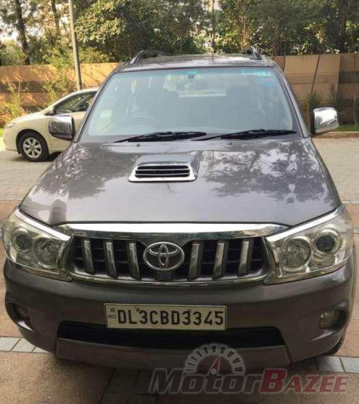 Used Toyota  Fortuner 4WD MT Truck