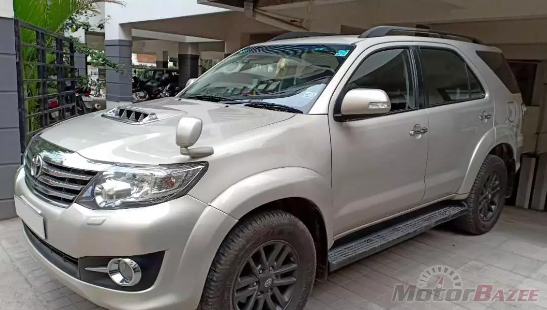Used Toyota  Fortuner TRD Sportivo 4X2 Automatic Truck