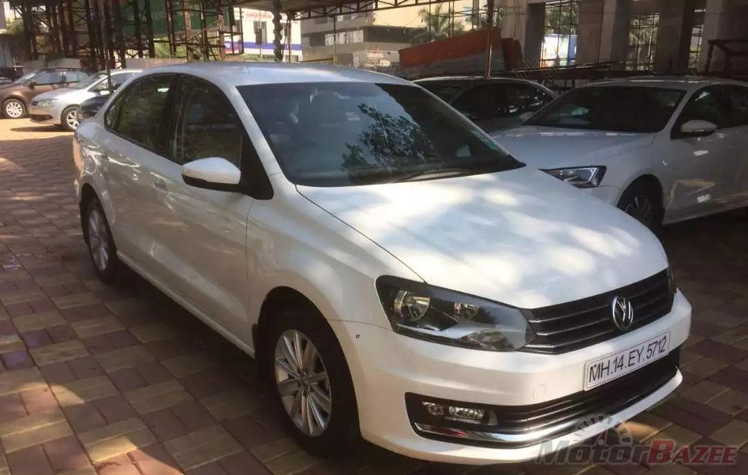 Used Volkswagen  Vento Highline Petrol AT Truck